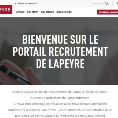 Lapeyre recrutement