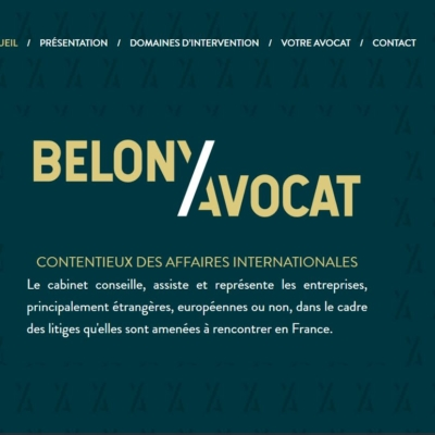 Belony Avocat